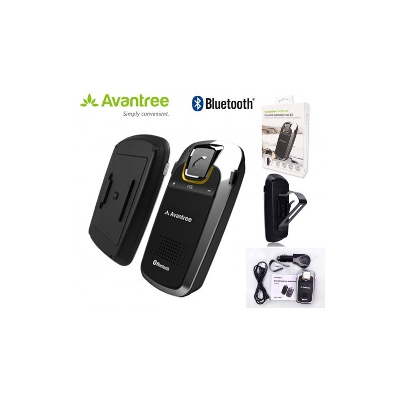 kit mains libres voiture bluetooth avantree btck 18c nks. Black Bedroom Furniture Sets. Home Design Ideas