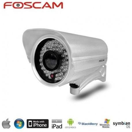 FOSCAM Camera IP Externe sans fil Argent FI8906W