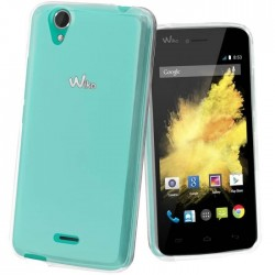 Coque silicone transparent WIKO
