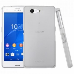 Coque silicone transparent Sony Xperia