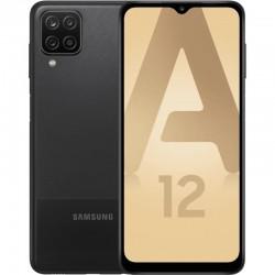 "Samsung Galaxy A12 Smartphone 16,5 cm (6.5"") Double SIM 4G USB Type-C 4 Go 64 Go 5000 mAh Noir"