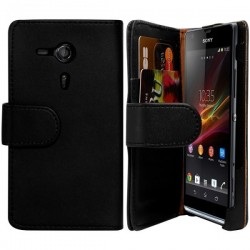 Etui Housse portefeuille SONY XPERIA